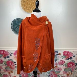 Greater Good Floral Embroidered Fairy Jacket S/M